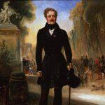 Lepaulle, Francois Gabriel Guillaume ~ Portrait du Prince Démidoff au bas des Champs-Élysées