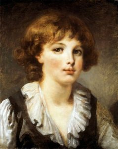 Greuze, Jean-Baptiste ~ Portrait of a Boy