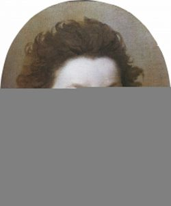 Le Brun, Charles ~ Portrait of a Boy, Head and Shoulders – A Sketch