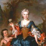 Largillière, Nicolas de ~ Portrait Of Françoise D'Escravayat, Marquise De La Barrière, As Flora
