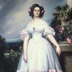 Winterhalter, Franz Xaver ~ Portrait Of HRH Princess Clementine Of Orléans (1817-1907)