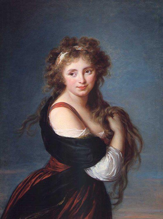 Vigée Le Brun, Élisabeth-Louise ~ Portrait Of Hyacinthe Gabrielle Roland, Countess Of Mornington,