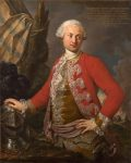 Torelli, Stefano ~ Portrait of Joseph de Saint Étienne Borne, Comte de Saint Sernin, Royal Polish and Electoral Saxon Chamberlain, Captain of the Guard, and Adjutant-General of the Infantry