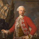 Torelli, Stefano ~ Portrait of Joseph de Saint Étienne Borne, Comte de Saint Sernin, Royal Polish and Electoral Saxon Chamberlain, Captain of the Guard, and Adjutant-General of the Infantry