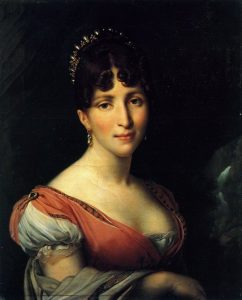 Girodet-Trioson, Anne-Louis ~ Portrait Of Queen Hortense