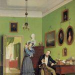 Bendz, Vilhelm-Ferdinand ~ Portrait of the Waagepetersen Family