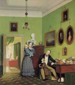 Bendz, Vilhelm-Ferdinand ~ Portrait of the Waagepetersen Family