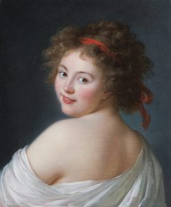 Vigée Le Brun, Élisabeth-Louise ~ Countess Yekaterina Vassilievna Skavronskaia, later Countess Litta
