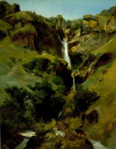 Cogniet, Leon ~ Reichembach Falls
