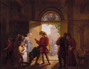 Révoil, Pierre ~ René d'Anjou Chez Palamède de Forbin