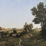 Harpignies, Henri-Joseph ~ Rome, vue du mont Palatin