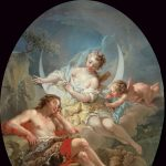 Le Mettay, Pierre-Charles ~ Séléné et Endymion (One of a pair)