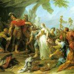 Restout, Jean ~ Scipio returning to Allutius his Betrothed