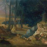 Puvis de Chavannes, Pierre ~ Study For Sleep