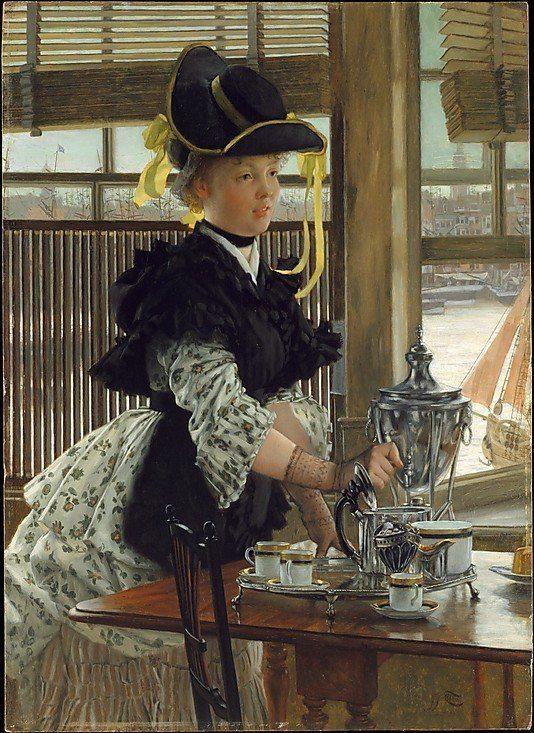 Tissot, James Jacques Joseph ~ Tea Time