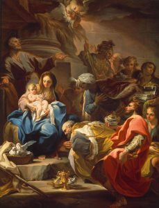 Giaquinto, Corrado ~ The Adoration of the Magi