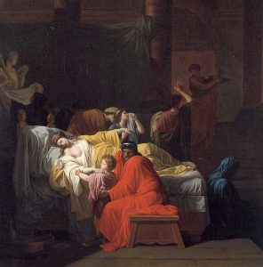 Peyron, Pierre ~ The Death of Alcestis
