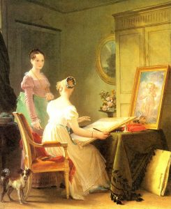 Gérard, Marguerite ~ The Drawing Lesson