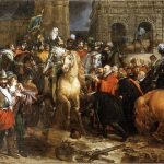 Gérard, Baron François ~ The Entry of Henry IV into Paris, 22 March 1594