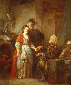 Le Prince, Jean-Baptiste ~ The Fortune Teller