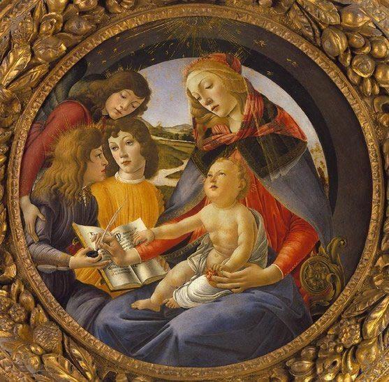 Botticelli, Sandro Fillipepi ~ The Madonna Of The Magnificat