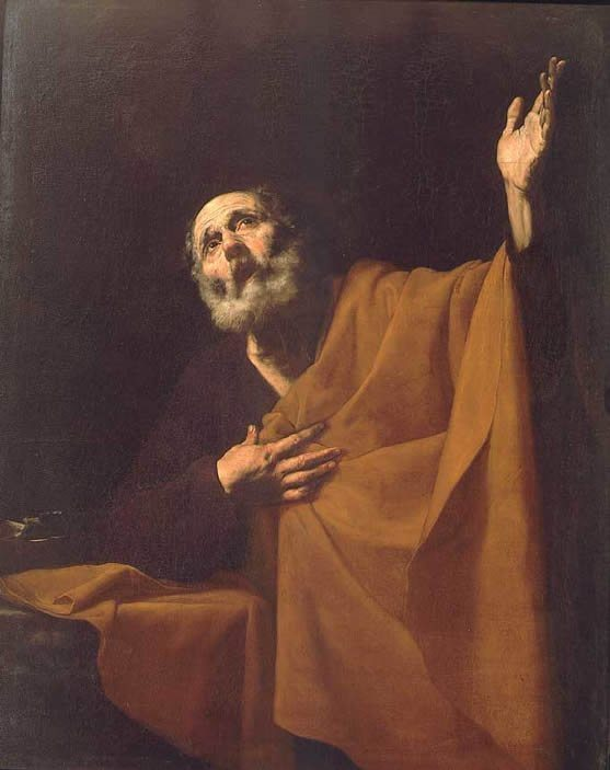 Ribera, Jusepe de ~ The Penitent Saint Peter