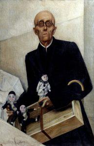 Iacovleff, Alexandre ~ The Puppet Pedlar (Portrait of Manuel de Falla)