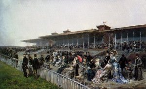 Marchetti, Ludovico ~ The Races at Longchamps