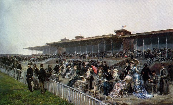 Marchetti, Ludovico ~ The Races at Longchamps