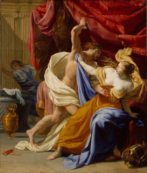 Le Sueur, Eustache ~ The Rape of Tamar