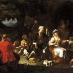 Bonito, Giuseppe ~ The Repose of the Huntsmen