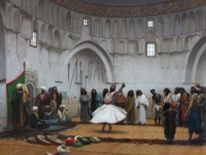 Gérôme, Jean-Léon ~ The Whirling Dervish