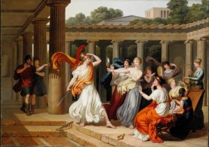 Gauffier, Louis ~ Ulysses Recognises Achilles Amongst The Daughters Of Lycomedes