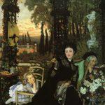 Tissot, James Jacques Joseph ~ Une Veuve (A Widow)