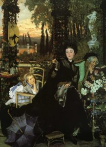 Tissot, James Jacques Joseph ~ Une Veuve (A Widow)