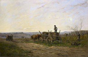 Delpy, Hippolyte-Camille ~ Vendanges nivernaise, effet du matin