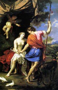 Mignard, Nicolas ~ Venus and Adonis