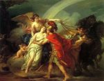 Vien, Joseph-Marie ~ Venus, Wounded by Diomedes, is Saved by Iris