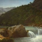 Bidauld, Jean-Joseph-Xavier ~ View of the Cascade of the Gorge near Allevard, on the River Isére