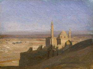 Gérôme, Jean-Léon ~ Vue du Caire