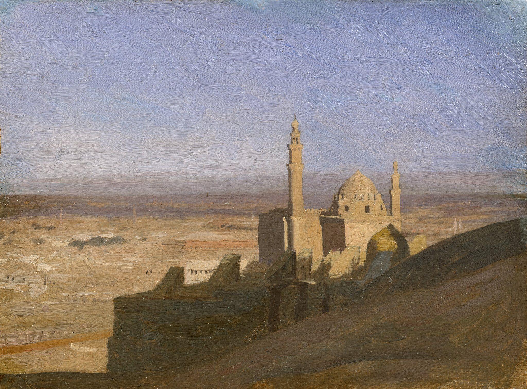 Vue du Caire