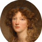 Greuze, Jean-Baptiste ~ Head of a young girl