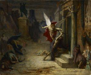 Delaunay, Jules-Élie ~ La Peste à Rome