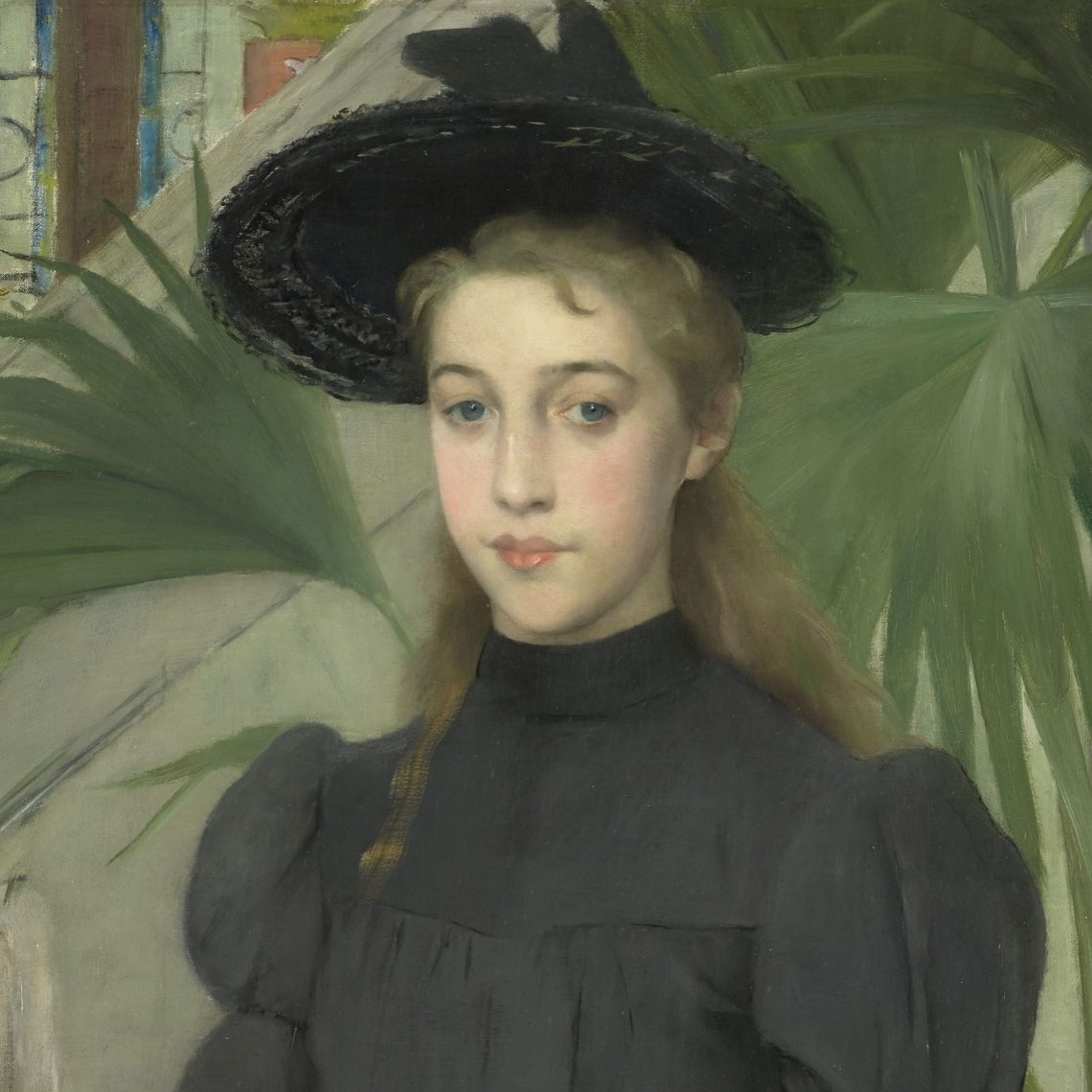 Roth, Clémence ~ Young girl in a black hat