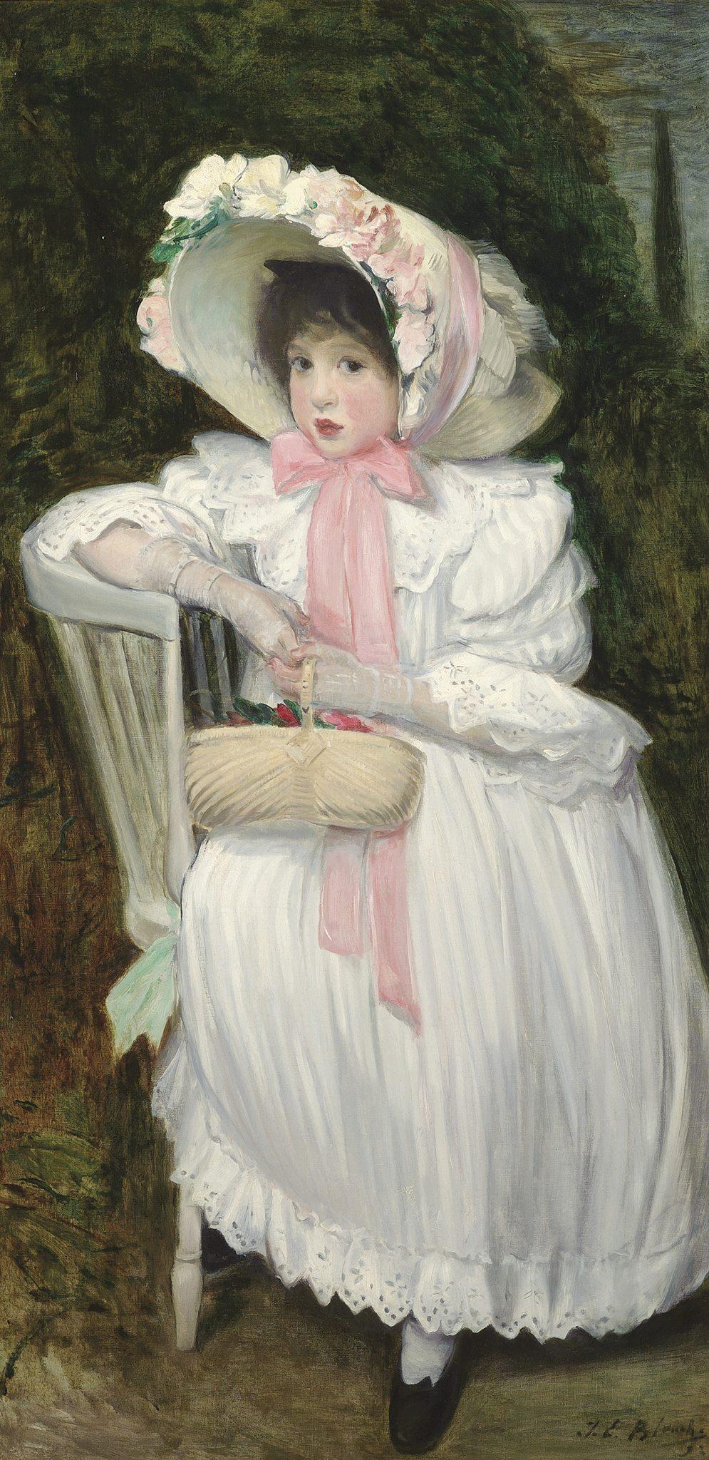 Blanche, Jacques-Emile ~ Wanda Zielinska, called La Pouponne