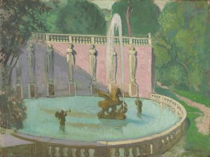 Denis,  Maurice ~ Fontaine de le Villa Lante