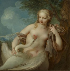 Lemoyne, François ~ Leda and the Swan
