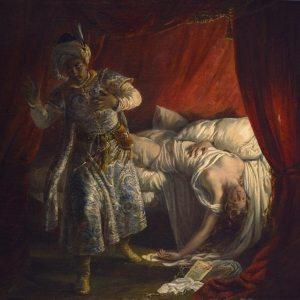 Colin, Alexandre Marie ~ Othello and Desdemona