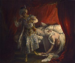 Colin, Alexandre Marie ~ Othello and Desdemona
