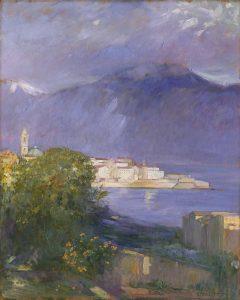 Marcel-Beronneau, Pierre Amédée ~ Vue d'Ajaccio, Corse